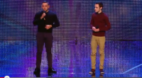 Brothers Richard 22, and Adam Johnson 19 from North Wales, put new live in an old classic song and received a standing ovation from the audience. Before delivering their performance the...