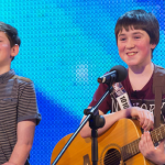 Dublin school boys Jack and Cormac impressed with a Taylor Swift song on BGT 2013 second semi final