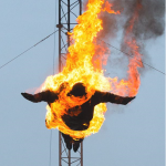 High Divers brought the flames of fire to Britain's Got Talent 2013 auditions pulling off a daring stunt