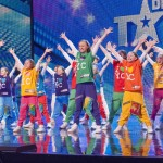 Dance Troupe Youth Creation showcased the Milky Bar Kid in their routine on BGT first semi-finals 2013