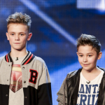 Teenage boys Bars and Melody (BAM) sings Hopeful on Britain's Got Talent 2014 auditions and thank Alesha Dixon for her inspiration