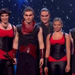 Pyroterra Britain's Got Talent 2014 semi finals  dance and acrobatics performance lit the flames