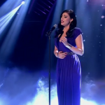 Lucy Kay sings Nella Fantasia on Britain's Got Talent 2014 third semi final and stole the show