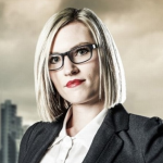 Dancer  Jemma Bird from the West Midlands hope to impress Lord Sugar with her moves on The Apprentice 2014