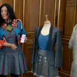 Cutecircuit showcase their  wearable tech ladies  fashion on The Apprentice 2014