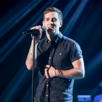 Stevie McCrorie  on The Voice 2015 singing All I Want  made  Rita Ora fall off her chair