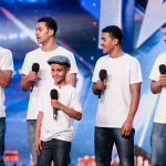 The Sakyi Five brothers singing One Direction Little Things on Britain's Got Talent 2015