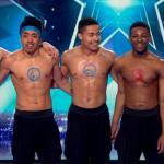 Boyband dance crew topless on Britain's Got Talent 2015 live final