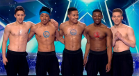 The five boys in Boyband dance crew striped off and dance topless on Britain's Got Talent live final. The boys returned to BGT as a wildcard act selected by the […]
