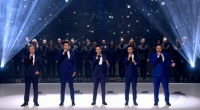 Callabro returned to the BGT stage to performed 'I won't give up on love', a track from their new album on the last semi finals of Britain's Got Talent 2015....