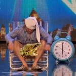 French man showed his private parts to the judges on Britain's Got More Talent 2015