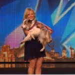 Lucy and Indie the dancing dog impressed on Britain's Got Talent 2015