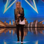 Saxophone player The Lovely Laura impressed on Britain's Got Talent 2015