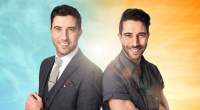 Identical Twins Craig and Chris from Manchester, compete on the BBC's Prized Apart adventure show. Craig and his brother Chris do everything together: they work together as events managers, live...