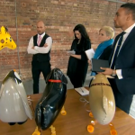 Sales of animal balloons, guinea pigs t-shirts and luxury dog sofas on The Apprentice 2015