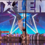 Male pole dancer Eddie impress on Britain's Got Talent 2016