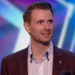 How did Richard Jones do his David Beckham and cup of tea in a can trick on Britain's Got Talent?