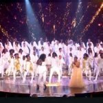 100 Voices of Gospel singing Oh Happy Days on Britain's Got Talent 2016 live final