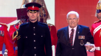 Richard Jones performed a military themed classic magic card trick while story telling on Britain's Got Talent 2016 live final.