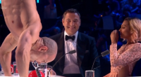 Alex Magala chainsaw and sword swallowing stun the judges on Britain's Got Talent 2016 live final.