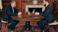 Will Houstoun impressed Downton Abbey's Jim Carter with his card and coin trick on The Next Great Magician.