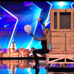 How did Magician Josephine Lee do her trick with the balls on Britain's Got Talent 2017?