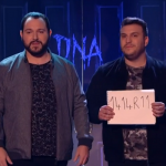 How did the two DNA magicians do their card trick on Britain's got talent 2017 semi final?