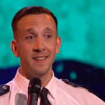 PC Dan enlisted the help of a female officer for the dance routine on Britain's got talent 2017 semi final