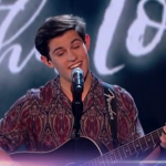 Reuben Gray sang his own song on Britain's Got Talent semi-final 2017