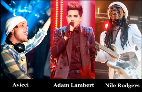 adam lambert and Avicii