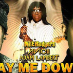 "Avicii teams up with Adam Lambert and Nile Rodgers  to unveil new track "" Lay Me Down"""