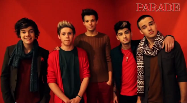 one direction at Christmas