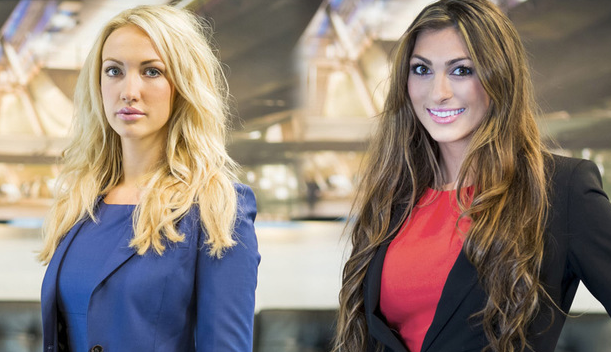 luisa and leah theapprentice final