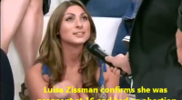 Lusia Zissiman seems to be no stranger to television, because the brunette beauty took part in a live TV debate some time ago where she revealed that she became pregnant...