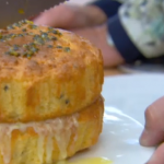 The Great British Bake Off 2013: Howard's Passion Fruit with Rice Flour cake