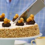 The Great British Bake Off 2013: Mary Berry's Hazelnut Dacquoise recipe