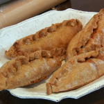 Paul Hollywood Pies and Puds : Curried cod pasties influenced by the Punjabi woman's center in Edinburgh