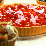 Paul Hollywood Pies and Puds : French Raspberry Tart by Fiona Cairns the maker of Prince William and Kate Middleton's wedding cake