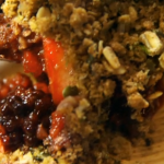 Paul Hollywood Pies and Puds: Apple and Blackberry Crumble with Seaweed