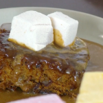 Paul Hollywood Pies and Puds: Sticky Toffee Pudding with Marshmellows