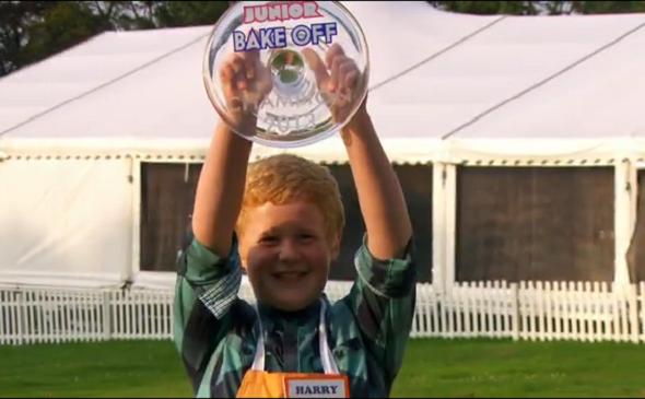 Harry winner of Junior bake off 2013