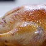 Roast Goose with festive stuffing by Michel Roux Jr on Food & Drink Christmas Special