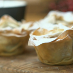 Pear and Apple minced Pies by Lorraine Pascale Christmas Kitchen with James Martin