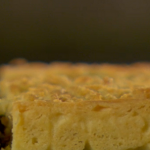 Mincemeat streusel Traybake by Mary Berry on The Great British Bake Off Christmas Special