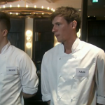 MasterChef The Professionals 2013 Semi Finalists cook in a Heston Blumenthal restaurant in for  Ashley Palmer-Watts