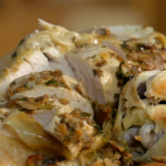 Chicken in Crust with mushroom butter by Jamie Oliver on Friday Night Feast