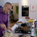 Roast chicken croquettes with spicy tomato chutney by Michel Roux Jr on Food and Drink