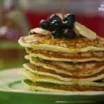 American Pancakes by Lisa Faulkner on This Morning's Comfort Cottage's weekend brunch