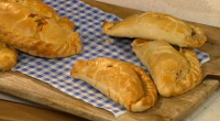 Father and son Dick and James Strawbridge serve up two delicious types of Cornish pasties in the This Morning kitchen. The father and son duo makes a smoked haddock and...