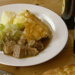 Rick Stein's Steak Guinness and oyster pie on Saturday Kitchen Live